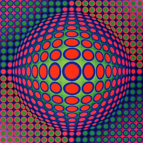AAA-ART-ABSTRAIT-VICTOR-VASARELY-BACHELOR-DESIGN-GRAPHIQUE